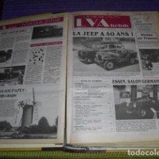 Coches: LA VIE DE L'AUTO - Nº 91/01 AL Nº 91/24 - 24 EJEMPLARES -. Lote 159125422