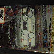 Coches: REVISTA MOTOR JOVEN Nº 60 MARZO DE 1987 (CON POSTER). Lote 159125498