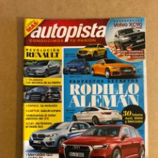 Coches - AUTOPISTA N° 2922 (2015). BMW SERIE 3, MERCEDES GLC COUPÉ, AUDI A5, BMW X1, VW GOLF,... - 160190077