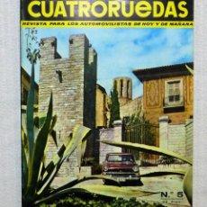 Coches: REVISTA CUATRORUEDAS. Nº 5. AÑO I. MAYO DE 1964. Lote 184841147