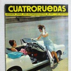 Coches: REVISTA CUATRORUEDAS. Nº 6. AÑO I. JUNIO DE 1964. Lote 184841158