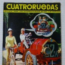 Coches: REVISTA CUATRORUEDAS. Nº 7. AÑO I. JULIO DE 1964. Lote 160463982