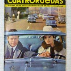 Coches: REVISTA CUATRORUEDAS. Nº 13. AÑO 2. ENERO DE 1965. Lote 160465770