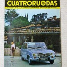 Coches: REVISTA CUATRORUEDAS. Nº 14. AÑO 2. FEBRERO DE 1965. Lote 160465986