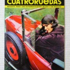 Coches: REVISTA CUATRORUEDAS. Nº 15. AÑO 2. MARZO DE 1965. Lote 160466366