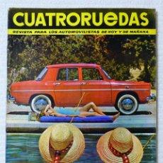 Coches: REVISTA CUATRORUEDAS. Nº 17. AÑO 2. MAYO DE 1965. Lote 160466946