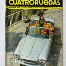 Coches: REVISTA CUATRORUEDAS. Nº 18. AÑO 2. JUNIO DE 1965. Lote 160467166