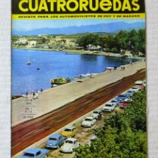 Coches: REVISTA CUATRORUEDAS. Nº 19. AÑO 2. JULIO DE 1965. Lote 160467394