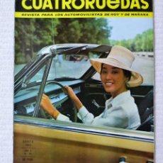 Coches: REVISTA CUATRORUEDAS. Nº 20. AÑO 2. AGOSTO DE 1965. Lote 160467578