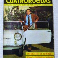 Coches: REVISTA CUATRORUEDAS. Nº 21. AÑO 2. SEPTIEMBRE DE 1965. Lote 160467814