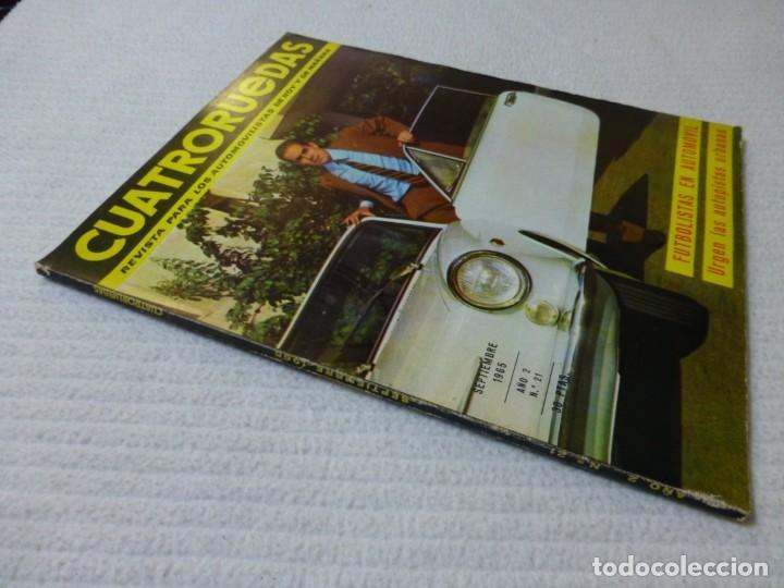 Coches: Revista Cuatroruedas. Nº 21. Año 2. Septiembre de 1965 - Foto 2 - 160467814