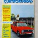 Coches: REVISTA CUATRORUEDAS. Nº 89. AÑO VIII. MAYO DE 1971. Lote 160508898