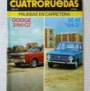 Coches: REVISTA CUATRORUEDAS. Nº 90. AÑO VIII. JUNIO DE 1971. Lote 160508974