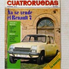 Coches: REVISTA CUATRORUEDAS. Nº 134. AÑO XII. FEBRERO DE 1975. Lote 160520774