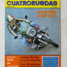 Coches: REVISTA CUATRORUEDAS. Nº 136. AÑO XII. ABRIL DE 1975. Lote 160520974