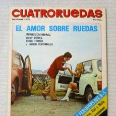 Coches: REVISTA CUATRORUEDAS. Nº 142. AÑO XII. OCTUBRE DE 1975. Lote 160521606