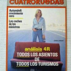 Coches: REVISTA CUATRORUEDAS. Nº 143. AÑO XII. NOVIEMBRE DE 1975. Lote 160521706