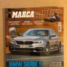Coches: MARCA MOTOR N° 157 (2016). BMW SERIE 5, AUDI A3 SPORTBACK, AUDI R8 SPYDER, AUDI Q5, AUDI A3,.... Lote 160887134