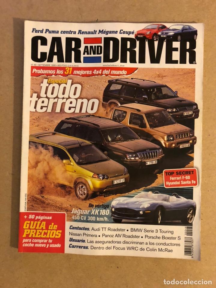 CAR AND DRIVER N° 48 (1999). ESPECIAL TODO TERRENO, JAGUAR XK 180, AUDI TT ROADSTER, BMW SERIE 3 TOU (Coches y Motocicletas Antiguas y Clásicas - Revistas de Coches)