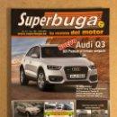 Coches: SUPERBUGA N°162 (2011). AUDI Q3, JEEP GRAND CHEROKEE, PANAMERA TURBO S,.... Lote 160896322
