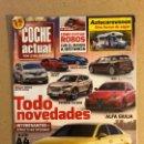 Coches: COCHE ACTUAL N°1388 (2015). AUDI A4, MINI COPPER, ALFA GIULIA, AUTOCARAVANAS,.... Lote 160896484