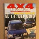 Coches: SOLO AUTO 4X4 N°169 (1997). HONDA CR-V, TOYOTA RAV, MONTERO VS LAND CRUISER,.... Lote 160896542