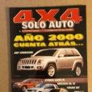 Coches: SOLO AUTO 4X4 N°183 (1999). JEEP COMMANDER, HYUNDAI SANTA FE, MERCEDES ML 55, NISSAN SUT, BMW X5,.... Lote 160896621