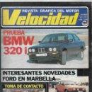 Coches: REVISTA VELOCIDAD NUM. 1169 DE FEBRERO DE 1984.. Lote 160985358