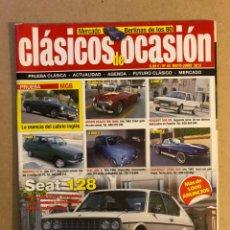 Coches: CLÁSICOS DE OCASIÓN N°43 (2013). SEAT 128, MERCADOS BERLINAS DE LOS 80. Lote 161026972