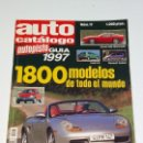 Coches: REVISTA AUTO CATALOGO 1997 AUTOPISTA. Lote 161166770