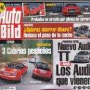 Coches: REVISTA AUTO BILD Nº 22 AÑO 2006. COMP: AUDI RS4, MITSUBISHI EVO 9 Y SUBARU IMPREZA STI. MAZDA MX 5,. Lote 161169030