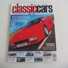 Coches: CLASSICCARS JUNE 2003. MAGAZINE CLASSIC CARS. REVISTA DE COCHES CLASICOS EN INGLÉS. Lote 161186794