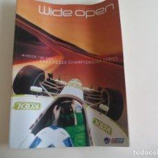 Coches: WIDE OPEN A SUPPLEMENT TO AUTOSPORT, CART FEDEX CHAMPIONSHIP SERIES EN INGLÉS. Lote 161186934