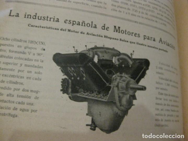 Coches: difícil revista auto tecnica nº 1 año 1920 esquemas chasis divulgacion automovilismo y aviacion - Foto 3 - 161708922