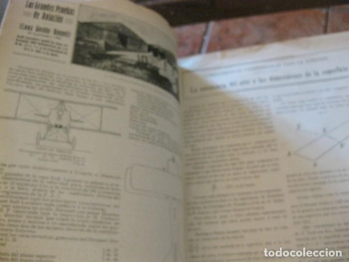 Coches: difícil revista auto tecnica nº 1 año 1920 esquemas chasis divulgacion automovilismo y aviacion - Foto 6 - 161708922