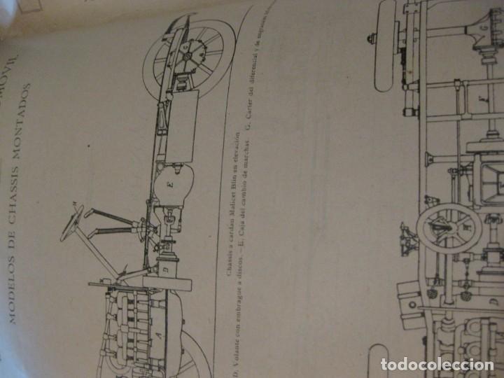 Coches: difícil revista auto tecnica nº 1 año 1920 esquemas chasis divulgacion automovilismo y aviacion - Foto 7 - 161708922