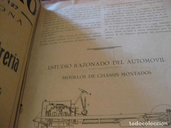 Coches: difícil revista auto tecnica nº 1 año 1920 esquemas chasis divulgacion automovilismo y aviacion - Foto 9 - 161708922