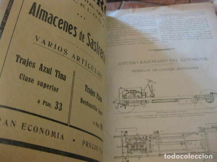 Coches: difícil revista auto tecnica nº 1 año 1920 esquemas chasis divulgacion automovilismo y aviacion - Foto 10 - 161708922