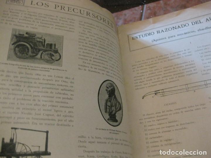 Coches: difícil revista auto tecnica nº 1 año 1920 esquemas chasis divulgacion automovilismo y aviacion - Foto 11 - 161708922