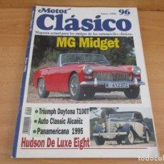 Coches: REVISTA MOTOR CLASICO ENERO DE 1996. Lote 162319946