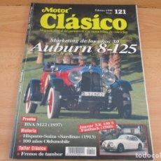 Coches: REVISTA MOTOR CLASICO FEBRERO DE 1998. Lote 162320070