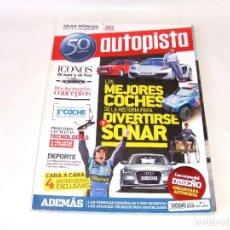 Coches: REVISTA AUTOPISTA EXTRA 50 ANIVERSARIO AÑO 2011. Lote 162448354