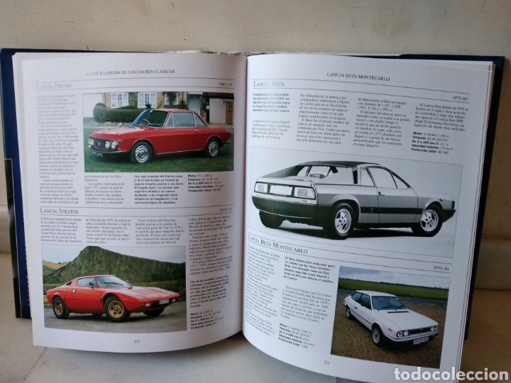 Coches: Lote de 3 enclopedias de coches - Foto 3 - 162450509
