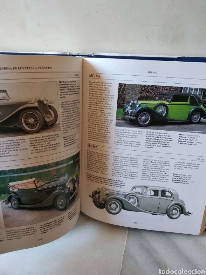Coches: Lote de 3 enclopedias de coches - Foto 5 - 162450509