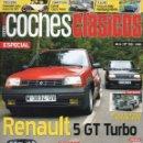 Coches: COCHES CLASICOS N. 165 - EN PORTADA: RENAULT 5 GT TURBO (NUEVA). Lote 163076478