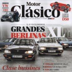 Coches: MOTOR CLASICO N. 362 DICIEMBRE 2018 - EN PORTADA: GRANDES BERLINAS XL (NUEVA). Lote 163076690