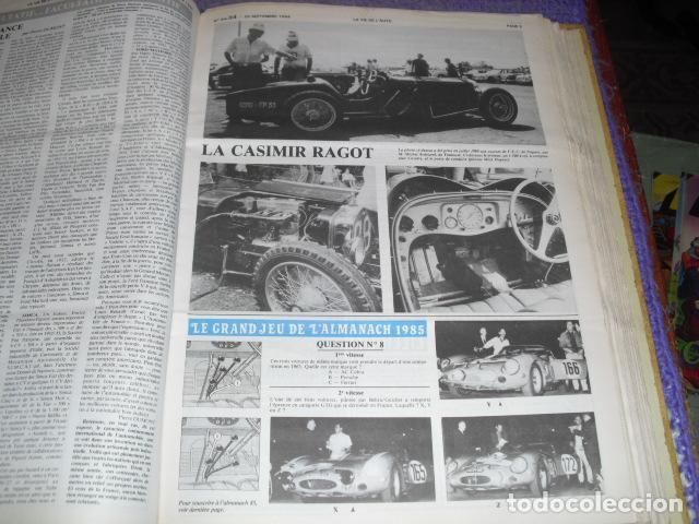 Coches: LA VIE DE L'AUTO - 23 EJEMPLARES - AÑO 1984 - Foto 4 - 164037446