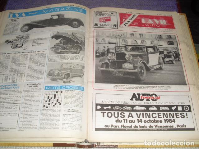 Coches: LA VIE DE L'AUTO - 23 EJEMPLARES - AÑO 1984 - Foto 5 - 164037446