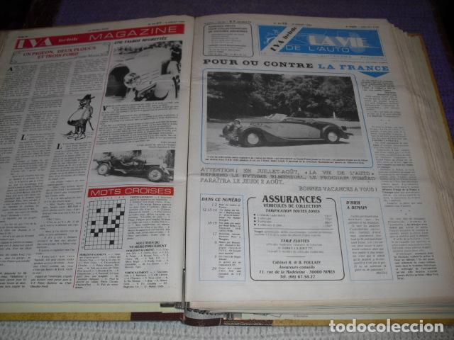 Coches: LA VIE DE L'AUTO - 23 EJEMPLARES - AÑO 1984 - Foto 8 - 164037446