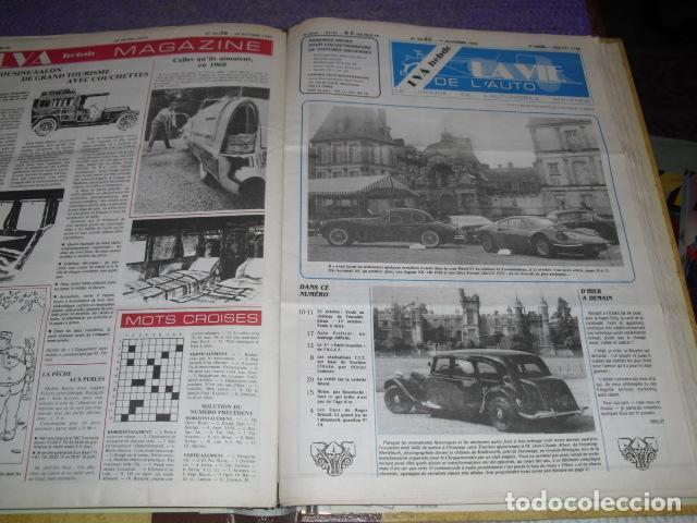 Coches: LA VIE DE L'AUTO - 23 EJEMPLARES - AÑO 1984 - Foto 9 - 164037446